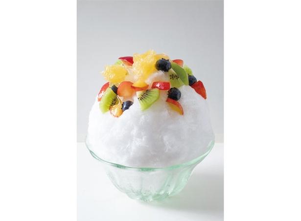 蕎麦カフェ KAZARU / 素材の甘さを生かしたアールグレイ+フルーツ(840円)