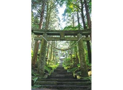 上色見熊野座神社 / 異世界に入り込んだような 非日常の時空に浸る