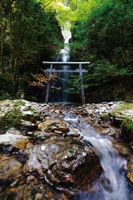 岩門の滝(岐阜県関市)