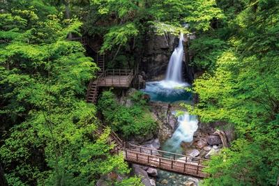 竜神の滝(岐阜県中津川市)