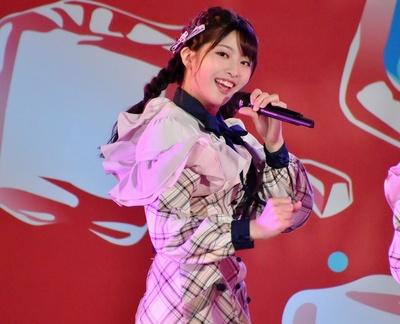 AKB48 チーム8「SUMMER STATION 音楽LIVE」行天優莉奈さん(香川県)