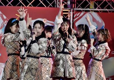 AKB48 チーム8「SUMMER STATION 音楽LIVE」下尾みうさん(山口県)、永野芹佳さん(大阪府)
