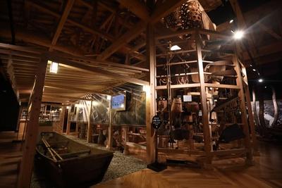 ヒストリアテラス五木谷 / 展示室は有料(大人300円)で、充実した展示が楽しめる