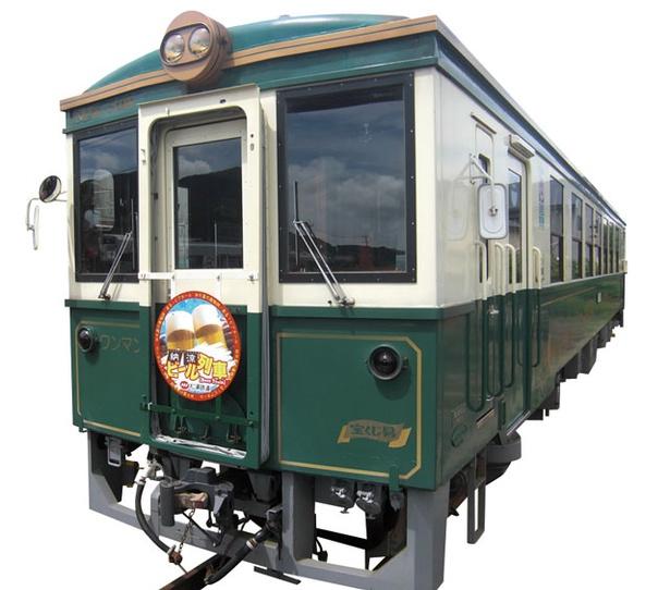 松浦鉄道 伊万里駅 / ビール列車