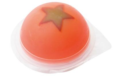 エトワール・ホリエ / 地元産のトマトを使用した「水まんじゅう トマト」(190円)