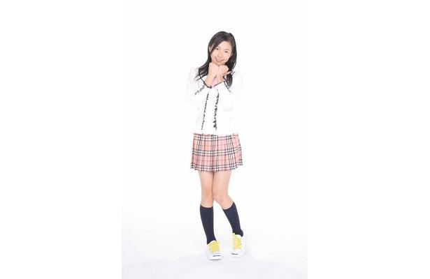 今回「素」を披露する松井珠里奈(11歳) (C)SKE48