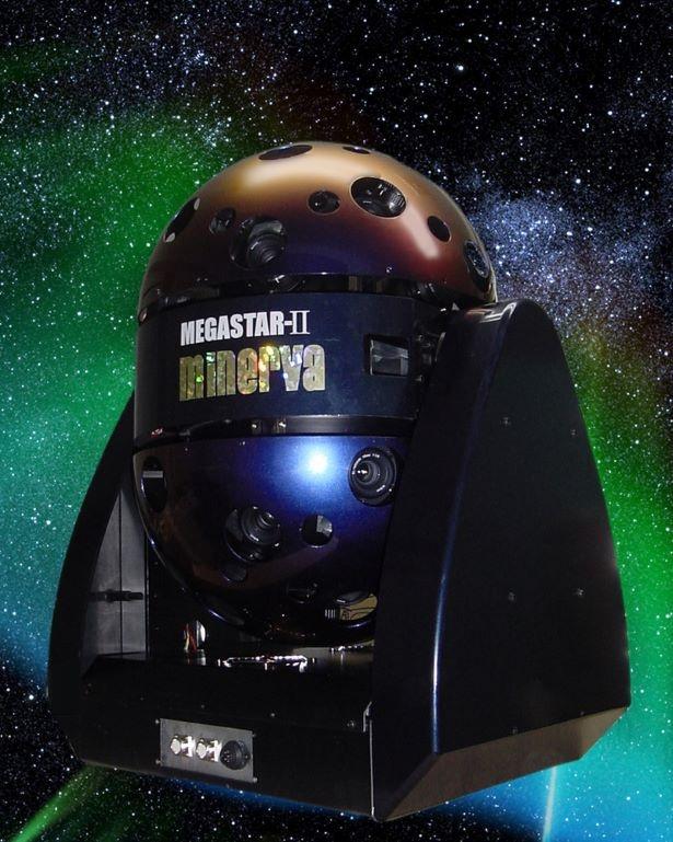 光学式プラネタリウム投影機「MEGASTAR-Ⅱ(メガスター・ツー)」