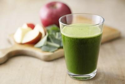 「Apple & Kale」は、ケール独特の味にりんごの甘味を加えた飲みやすいドリンク