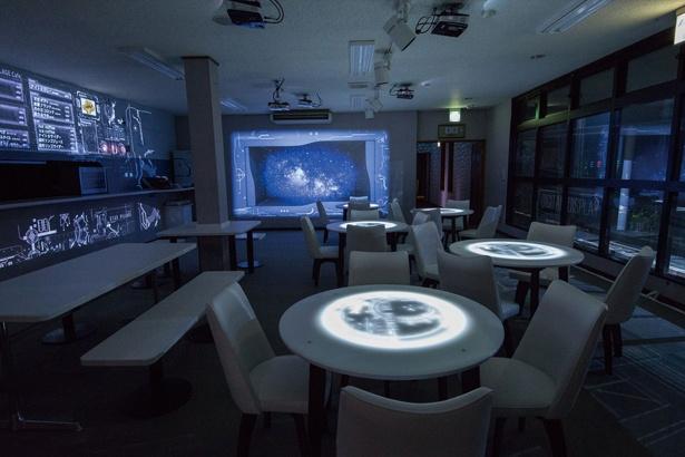 「STAR VILLAGE CAFE」はナイトツアー期間限定のカフェ /「ヘブンスそのはら」(長野県阿智村)