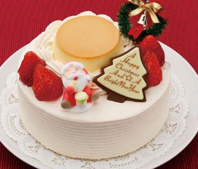 パステルのキャラメルプリンケーキ