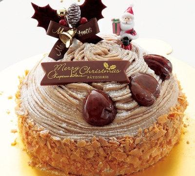 シャポーブラン ドゥのクリスマスマロン