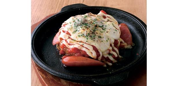 「チーズハンバーグのオーブン焼き」399円