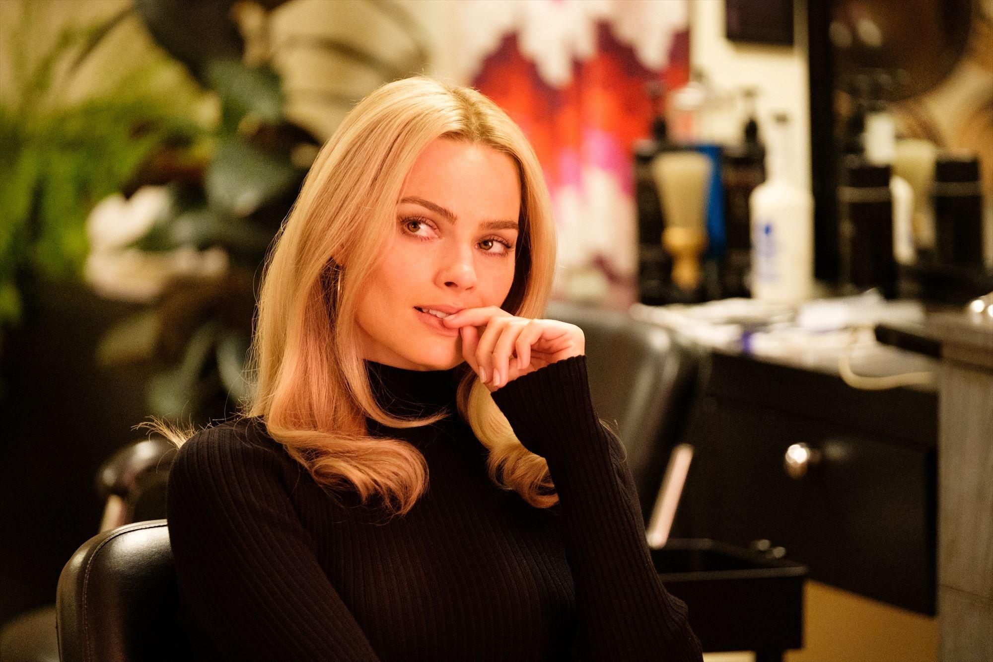 実在した女優シャロン・テートを演じるマーゴット・ロビー