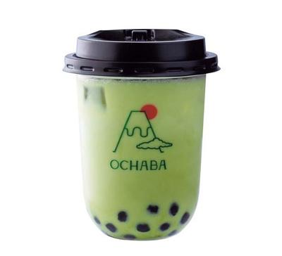 緑茶ロイヤルミルクティー(626円)/OCHABA