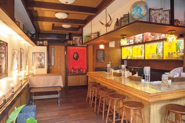 店主とシェフが1週間かけて完成させたアジアンテイストの内装/SPICE UP 京都