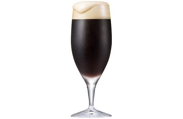 色合いは黒ビールのよう。香りに特徴が!