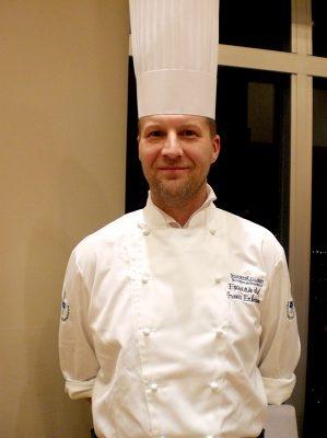料理長のGunnar Eriksson氏