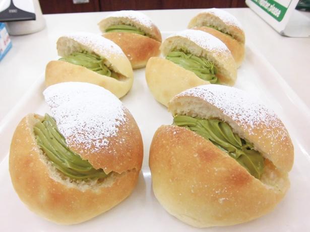 日本一の生産量を誇る、西尾の抹茶を使ったスイーツ&パンは必食! / にしお岡ノ山