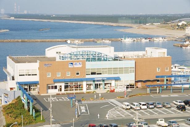 海と陸を結ぶターミナルとしての一面も / 伊良湖 クリスタルポルト