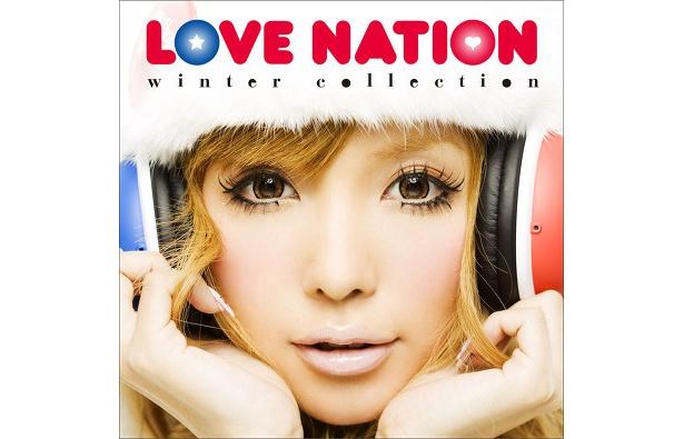 益若つばさがメインに!「LOVE NATION-winter collection-」のジャケット