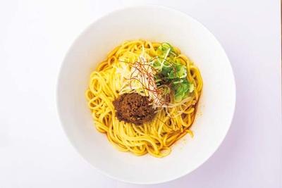 「汁なし担々麺(ご飯付き)」(700円)/らぁ麺 TORRY