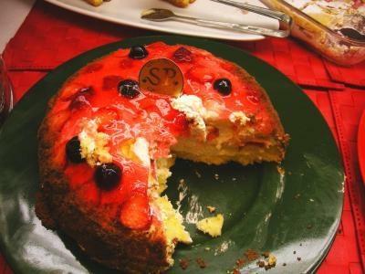 二番人気は「ベリーのケーキ」