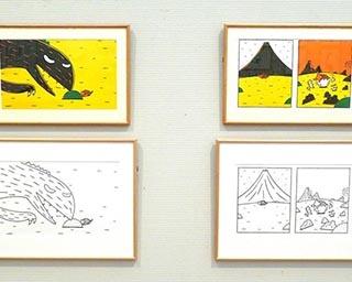 世代を越えて愛される宮西達也の絵本の世界「宮西達也Newワンダーランド展」開催中