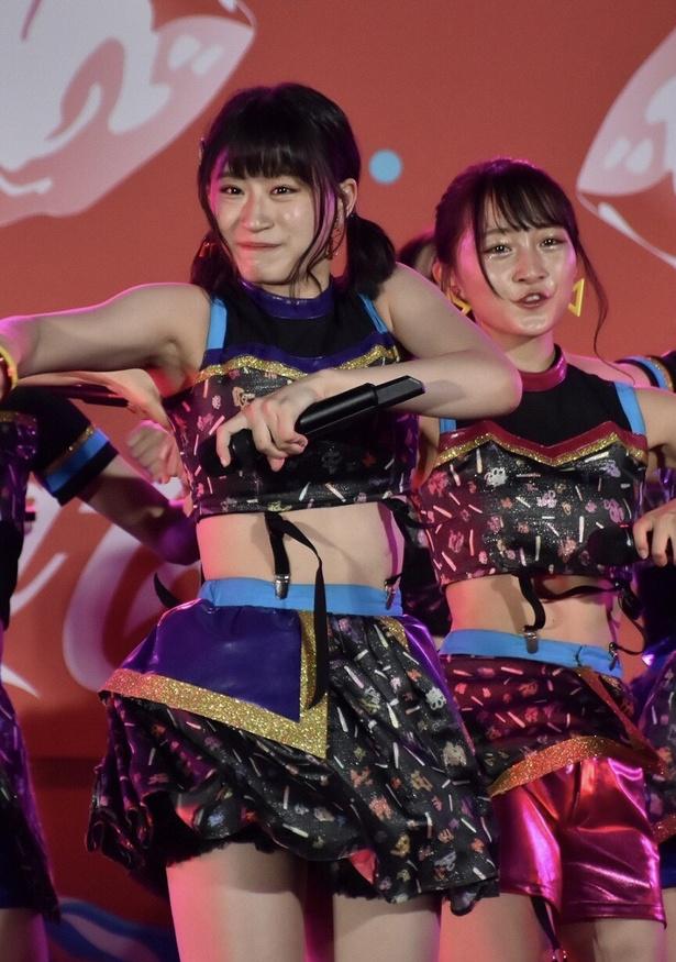 NMB48 チームBIIが「サマステ」に研究生を含む16名で登場!
