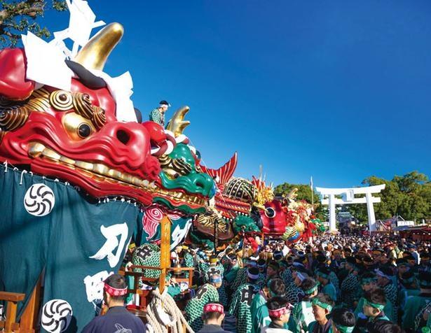佐賀県・唐津神社の秋季例大祭「唐津くんち」