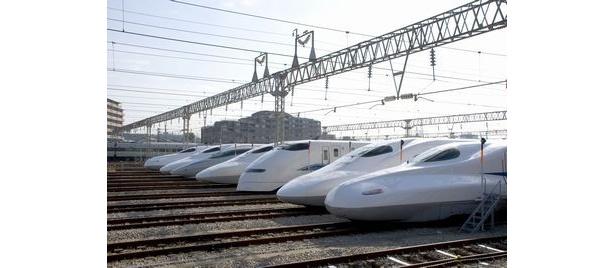 【写真】電車の中の王者とも言える新幹線にスポットを当てた鉄道ムービー
