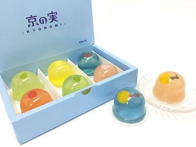 京の実 涼あそび(各220円)/菓樂
