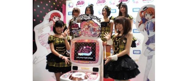 イベントに出席したSUPER☆GiRLS