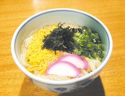 井上製麺(神埼市) / 香味にゅうめん