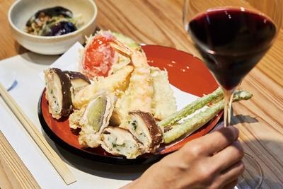 """ノングルテンの""""やのくに純真米粉""""を使った食感の良い天ぷらが自慢の「米粉天ぷら工房 天」"""