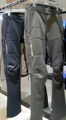 パンツも動きやすいように設計。何よりオシャレなのがうれしい