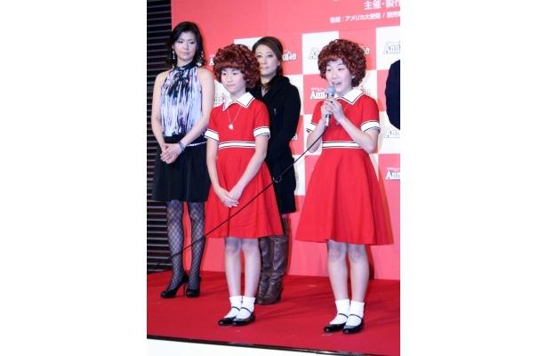 高地杏美は、アニーのワンピースを着ることが夢だったと明かした