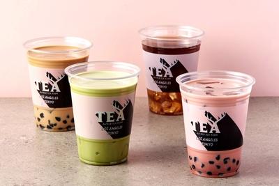 人気のタピオカ入りミルクティーをはじめ、世界中からセレクトした厳選茶葉を使用したティーメニューが楽しめる