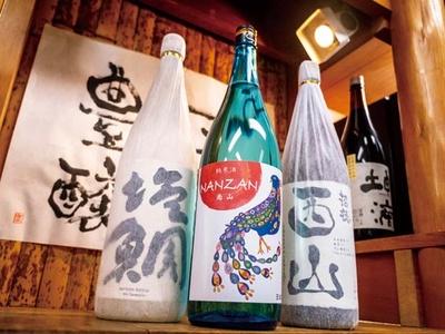 店主は現在まで6種類の純米酒をプロデュース/津之喜酒舗