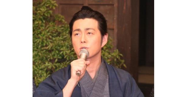近藤勇役の宅間孝行は「この作品がきっかけで若い人にも時代劇を見てもらえれば」とコメント