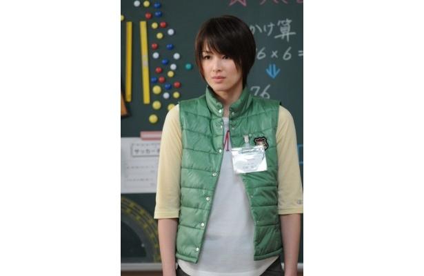 約1年ぶりに芳賀稲子を演じる吉瀬美智子