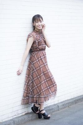 「カップリング(ロマンティックなサヨナラ)でちっひー(川上千尋さん)とダブルセンター曲をいただけたのでうれしかったです」内木志さん(NMB48)