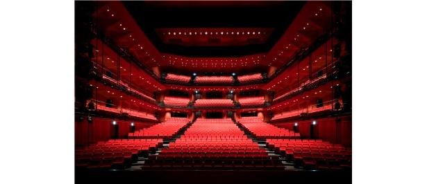 劇場ホールの様子