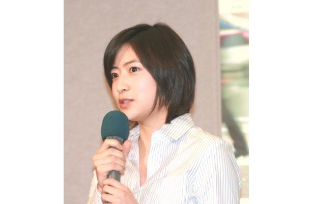 南沢は女子高生・猪野ミキを演じる
