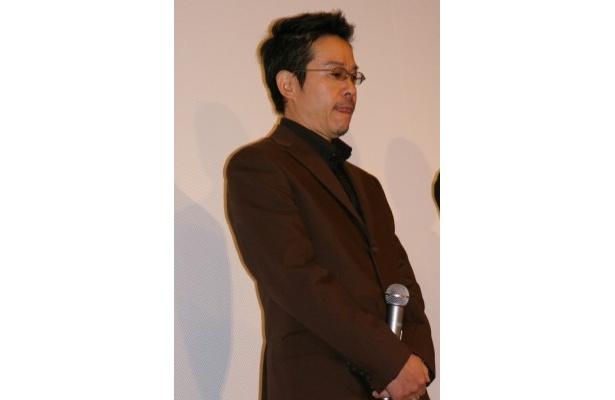 登壇者の中で最年長となる田口トモロヲ