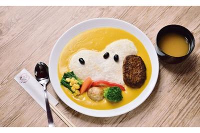 「スヌーピー ハンバーグオムライス」(税抜1580円)