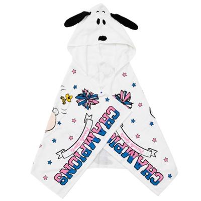 「スヌーピー フード付きバスタオル」(3456円)