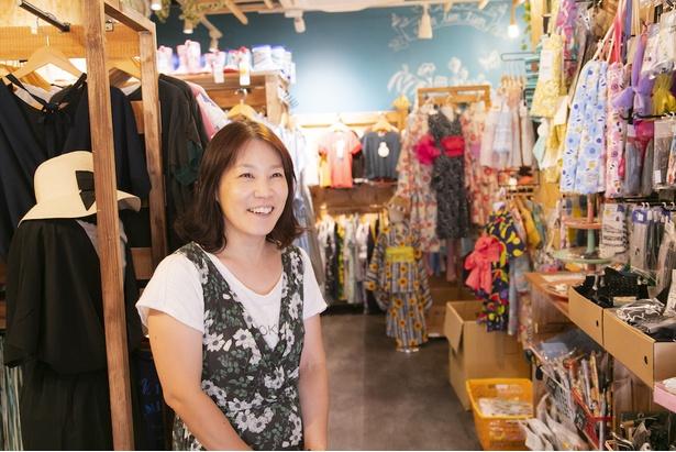 キッズとママのことを考えた店づくりをしている遠藤さん