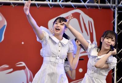 STU48が「サマステ」に登場! 瀧野由美子さん、岩田陽菜さん