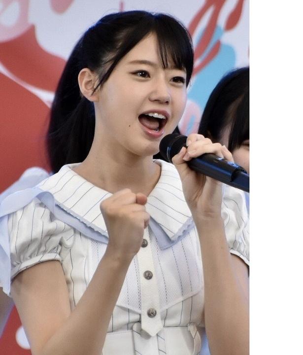 瀧野由美子さん( STU48)