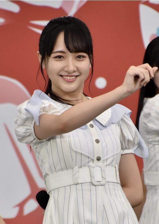 石田千穂さん(STU48)